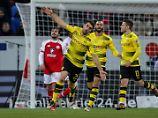 Perfektes Debüt in Mainz: Stöger erlöst Krisen-BVB - und andersrum
