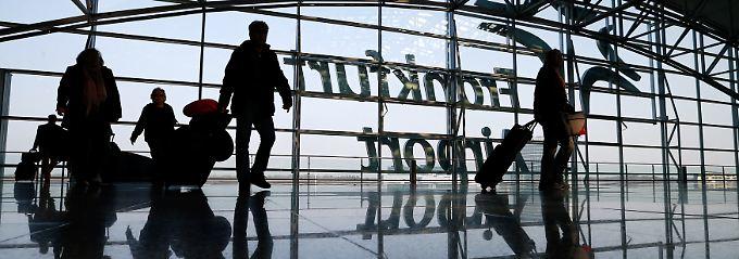 Deutschlands größter Verkehrsflughafen: Fraport zählt in Frankfurt 64,5 Millionen Passagiere.