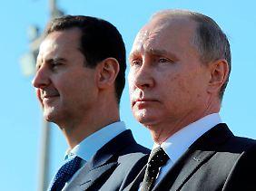 Baschar al-Assad ist Präsident von Putins Gnaden.