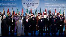 Der Tag: Islamischer Gipfel erkennt Ost-Jerusalem als Hauptstadt Palästinas an