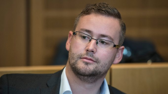 Der AfD-Politiker Sebastian Münzenmaier.
