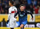Verletzungsschock für Stuttgart: Uths Abstauber erlöst 1899 Hoffenheim