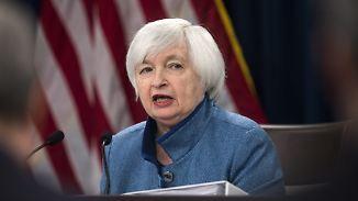 Um weitere 0,25 Punkte: Yellen hebt zum Abschied den Leitzins an