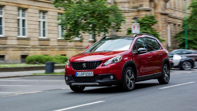 Der Peugeot 2008 ist seit 2013 auf dem Markt.