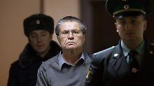 Ex-Wirtschaftsminister Russlands: Uljukajew wegen Korruption verurteilt