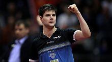 Deutscher entthront Ma Long: Ovtcharov wird Nummer eins im Tischtennis