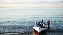Angebissen: Einfach angeln gehen