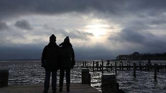 Weißes Wochenende in Sicht: Sonne gibt Gastspiel an der Küste