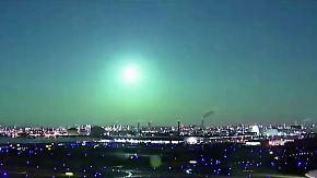 Außerirdisches Spektakel: Mysteriöser Feuerball verbrennt in Japans Nachthimmel