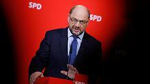 Ist Schulz angefressen?: SPD will sondieren, aber mit anderem Stil