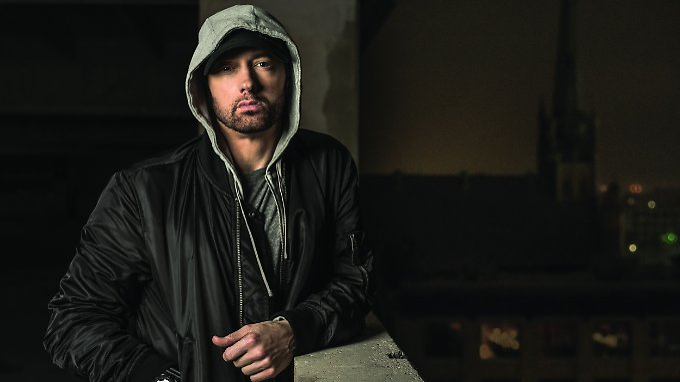 Erkannt? Eminem im Jahr 2017.