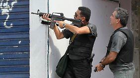Mit Panzern ins Elendviertel: In Rio tobt ein Drogenkrieg