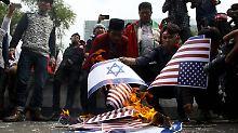 Vermittlung im Nahost-Konflikt: USA wollen neuen Frieden stiften