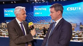 "Markus Söder zum CSU-Machtwechsel: ""Werden kein 'Bavaria First' machen"""