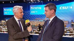 """Markus Söder zum CSU-Machtwechsel: """"Werden kein 'Bavaria First' machen"""""""