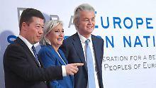 Anti-Europa-Gipfel: Rechtspopulisten fordern Ende der EU