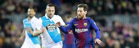 13. Sieg im 16. Spiel: FC Barcelona wandelt auf ManCitys Spuren
