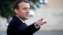 """Präsident Macron wird 40: """"Le Kid"""" mausert sich zum Anti-Trump"""