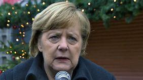 """Merkel gedenkt am Breitscheidplatz: """"Unser Staat hat Schwächen in dieser Situation gezeigt"""""""