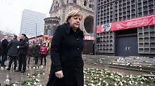 """""""Schonungsloses Gespräch"""": Merkel gesteht Fehler nach Anschlag ein"""