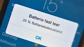 Powerbremse im iPhone?: Apple fährt zum Smartphone-Schutz die Leistung runter