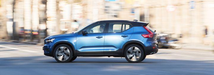 ... ein völlig neues Modell beim Volvo-Händler.