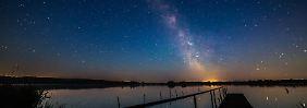 Sehenswerte Orte für Astrofans: Wenn die Milchstraße hell leuchtet