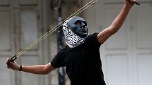 Gewaltsame Proteste: Palästinenser bei Unruhen erschossen