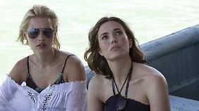 Kate und Lisa vor dem Abenteuer ihres Lebens ...