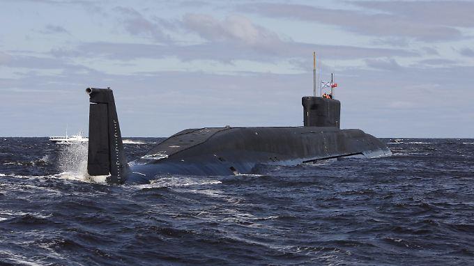 Die russische Marine soll sich für die Unterwasser-Infrastruktur der Nato interessieren.