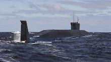 Datenkabel im Visier?: Russische U-Boote machen Nato nervös