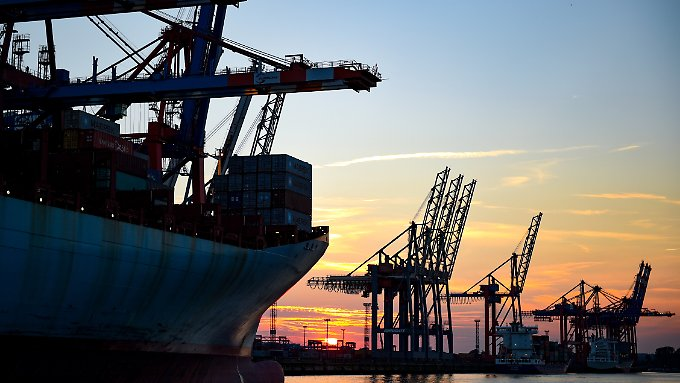 Die deutsche Wirtschaft ist exportstark.