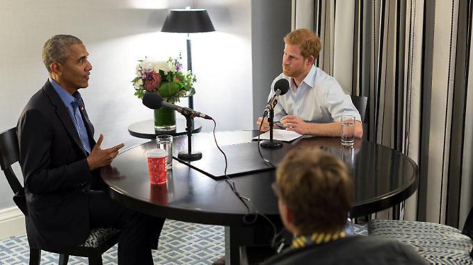 Gespräch über Trump und Meghan: Prinz Harry quetscht Barack Obama aus