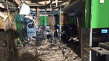 Explosion in Supermarkt: Putin spricht von Terrorakt in St. Petersburg