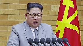 Nordkoreanische Botschaft zum neuen Jahr: Kim droht den USA mit Atomwaffenangriff