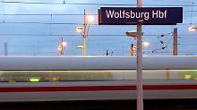 Bahn gelobt Besserung: Wenn der ICE nicht in Wolfsburg hält
