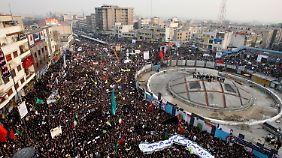 Demonstration in Teheran 2009: Damals gingen Millionen auf die Straßen. Der Aufstand hatte jedoch eine andere Struktur.