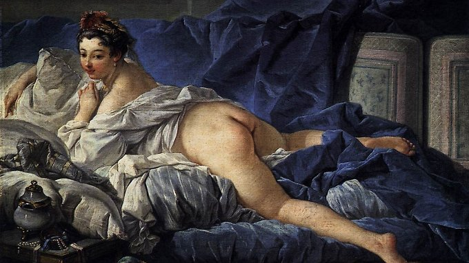 """François Bouchers Bild """"L' Odalisque Brune"""" entstand 1745 und hängt im Louvre in Paris."""