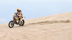 Männerdomäne Rallye Dakar?: Motorradfahrerin Laia Sanz will es wissen