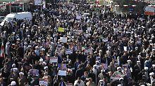 Anhaltende Proteste im Iran: Armeechef droht mit Militäreinsatz
