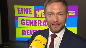 """Christian Lindner im n-tv Interview: """"Linksrückende GroKo würde Wahlergebnis verfälschen"""""""