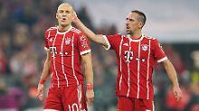 Arjen Robben und Franck Ribéry sind rechtzeitig zur Rückrunde beide fit - und könnten als Duo die Liga noch immer durcheinanderwirbeln.