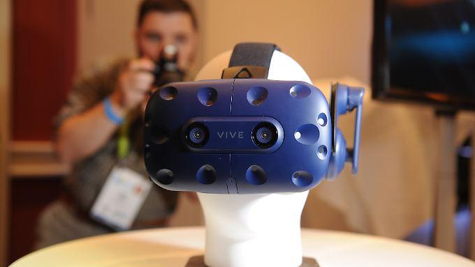 HTC is back: Die neue und verbesserte Vive Pro dürfte allerdings ihren Preis haben.