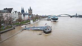 Entspannung in Sicht: Hochwasser an Rhein, Donau und Mosel zieht sich langsam zurück