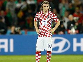 Luka Modric ist Kapitän der kroatischen Nationalmannschaft.
