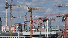 Bauland knapp, Arbeiter fehlen: Studie sieht Ende des Baubooms