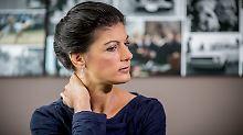 Sahra Wagenknecht ist laut einer Studie die attraktivste Spitzenkanidatin, dicht gefolgt von Christian Lindner.