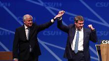 Absolute Mehrheit wackelt: CSU fällt in Umfrage auf 20-Jahres-Tief