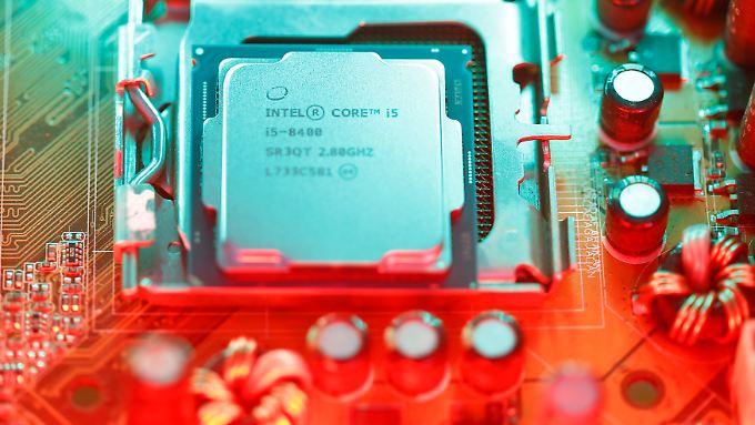 Bislang hätten die großen Hersteller Intel und AMD weniger die Sicherheit als die Performance im Blick gehabt, sagt IT-Experte Prescher.