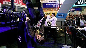 Drohnen und Blackout in Las Vegas: VR-Brillenträger geraten auf der CES ins Schleudern